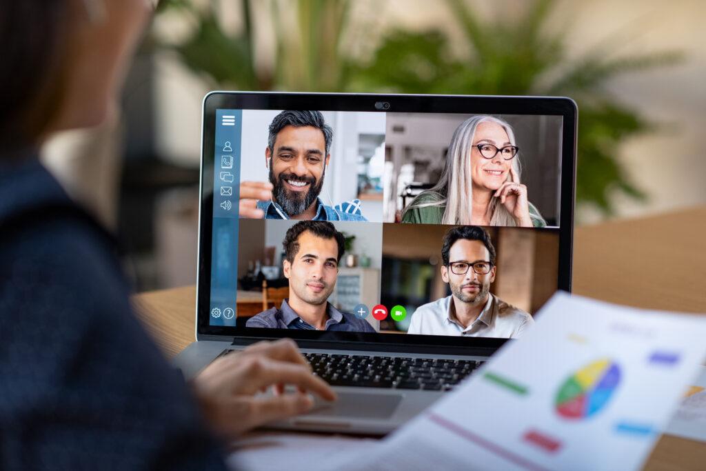 Video Konferenz im Home Office